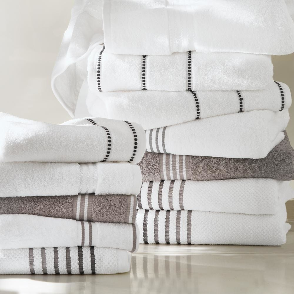 """You get two hand towels, two bath towels, and two washcloths!Promising review: """"These are very nice towels and washcloths! I love how the washcloths are not thin, and the cotton is not rough on my skin."""" —LynnPrice: $29.97+ (originally $32.23, available in 10 colors)"""