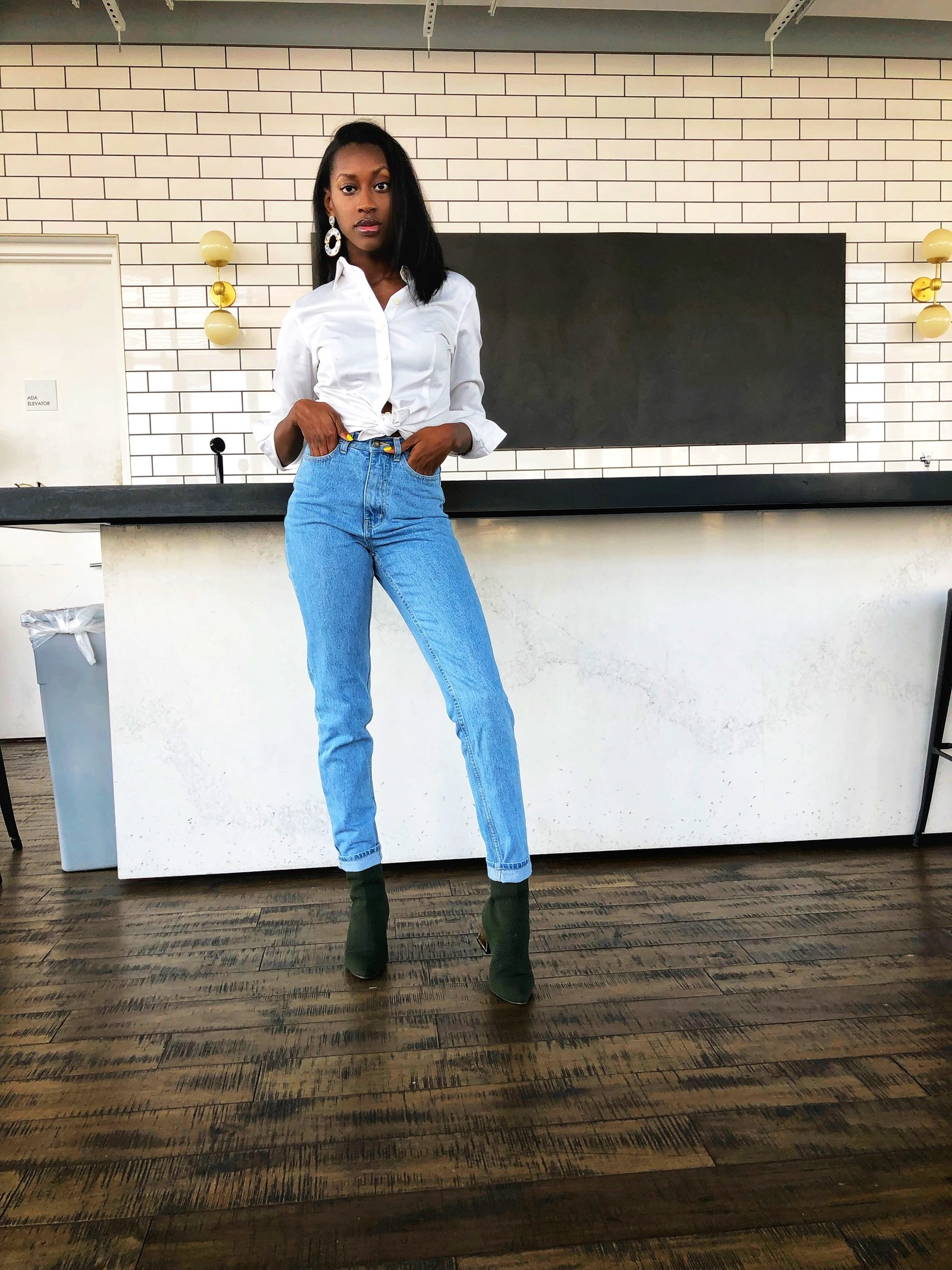 52702f8d05 Ruisin jeans are made of thick denim that ll fit perfectly snug in the hips  but still have that overall vintage feel. You can wear these with anything!