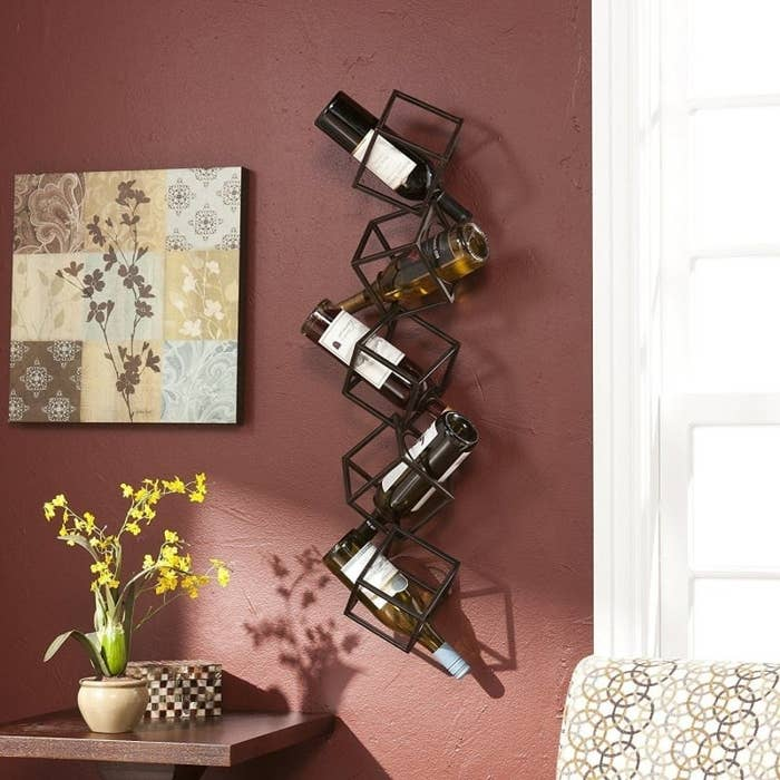 Price: $44.29(If you don't quite have the space for something so grand, also check out a foldable countertop wine rack for $17.99.)