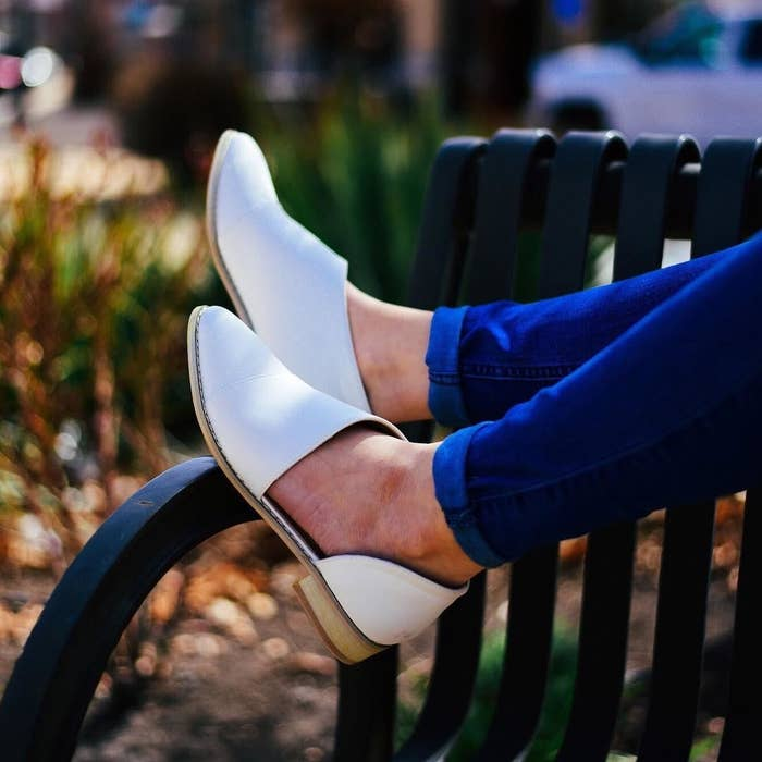44cd0b26b11f 4. A pair of faux leather d orsay flats for replacing those boots you ve  been wearing 24 7. It s time to set those feet FREE in the name of spring  fashion.