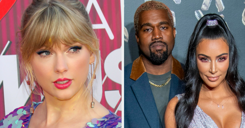 Taylor Swift May Have Reignited Her Feud With Kim And Kanye With This Instagram Like