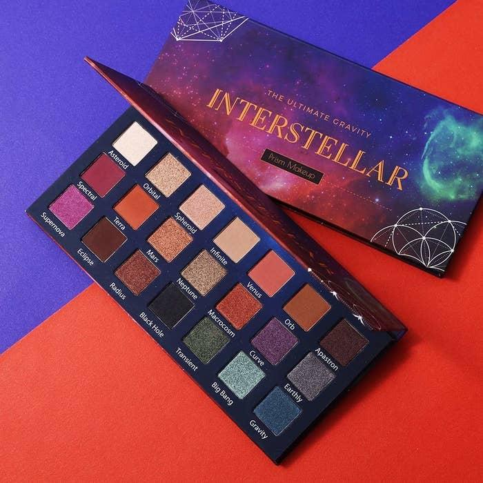 Prism Makeup's Interstellar eyeshadow palette