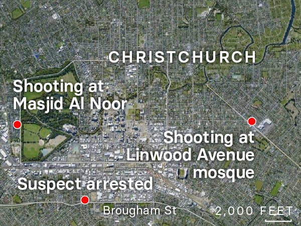 Shooting Attacks At Christchurch, New Zealand, Mosques Have ...