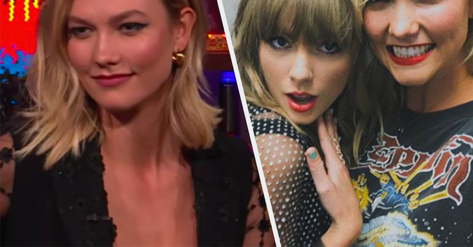 Karlie Kloss Was Asked About Taylor Swift On Live TV And She Kinda Dodged The Question