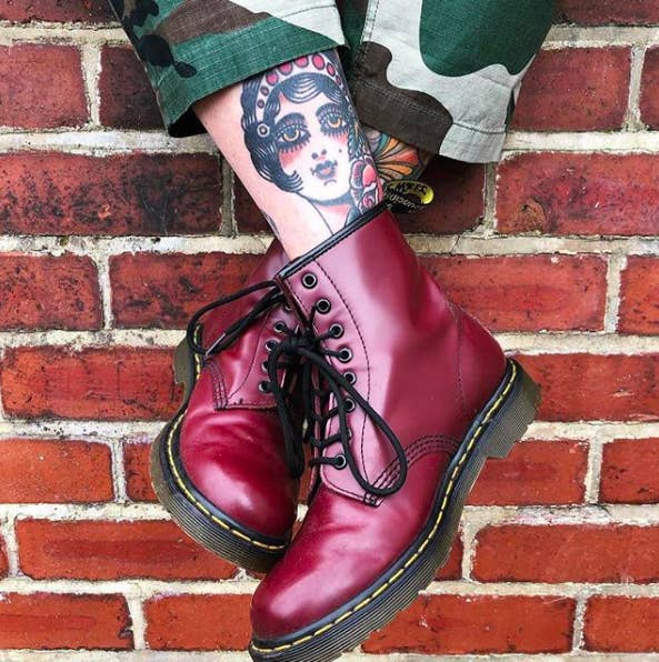 e3031f20a555 Dr. Martens Combat Boots – you should probably convince all your loved ones  to buy some. (I practice what I preach! I ve recently convinced two friends  to ...
