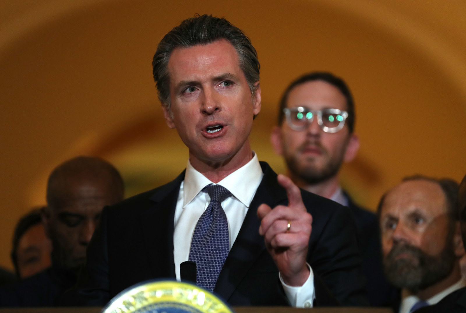California's Governor Thinks Democratic Presidential Candidates Should Commit To Taking Federal Prisoners Off Death Row