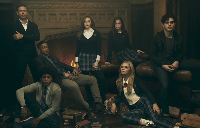 For those who aren't keeping up with Legacies, the show follows Hope Mikaelson, and Lizzie and Josie Saltzman as they attend the Salvatore School for the Young and Gifted.