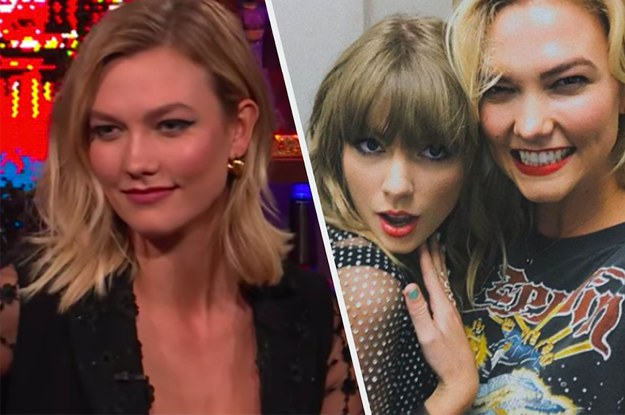 Karlie Kloss Dodged A Question About Taylor Swifts Comments