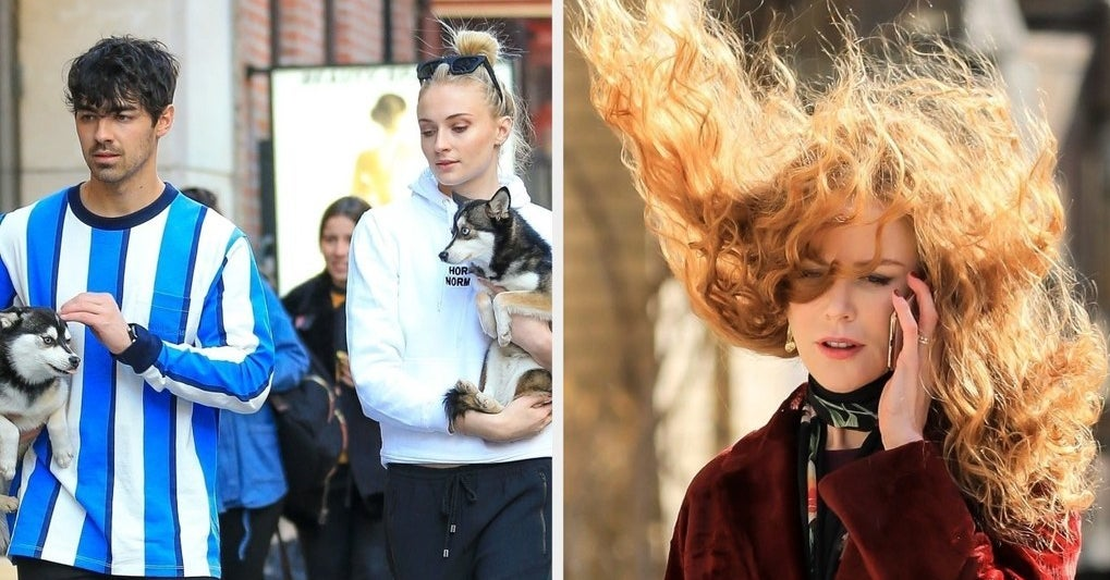16 Things Famous People Were Photographed Doing This Week
