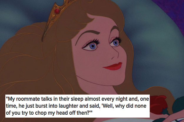 17 Super Weird Things People Have Heard Other People Say In Their Sleep
