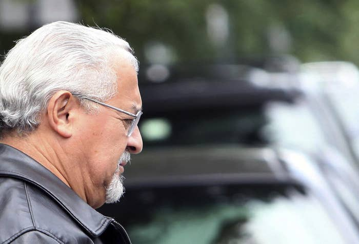 Former Chicago police detective Reynaldo Guevara, one of the two detectives who Francisco Vicente says beat him until he agreed to help frame five men for murder.
