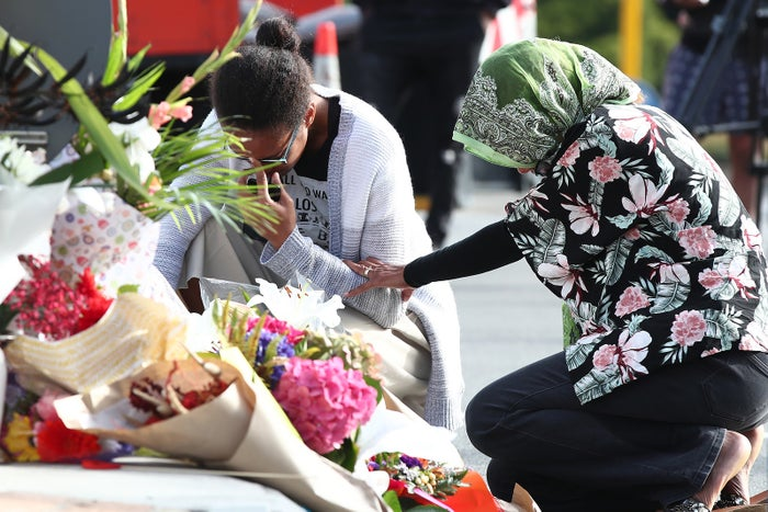 A vigil in Christchurch following a deadly terror attack that left 49 people dead.