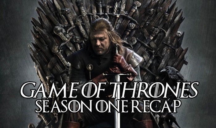 After nearly two long years of waiting, it's finally almost time for new Game of Thrones. Which means it's time to refresh our collective memories about everything that's happened so far. For me, that means commencing my annual rewatch of the series (honestly what will I do with my life once it's over?!), beginning with the first season, naturally. And to save you the hassle of doing it yourself (or just to have some fun talking about it if you are rewatching it), here's my take on the season...