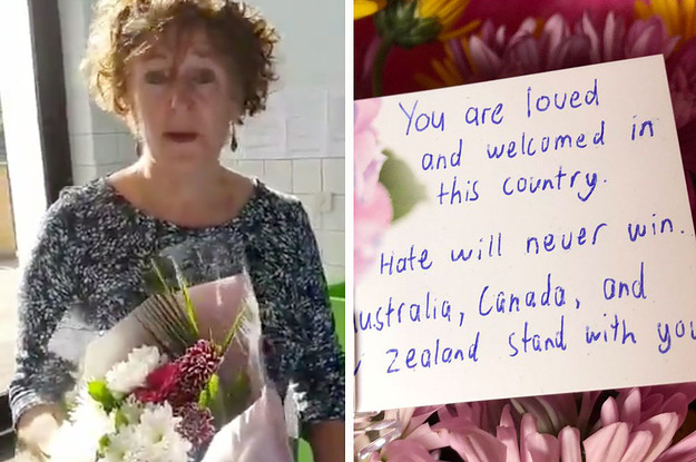 People Everywhere Are Laying Flowers At Mosques After The Christchurch Mass Shootings