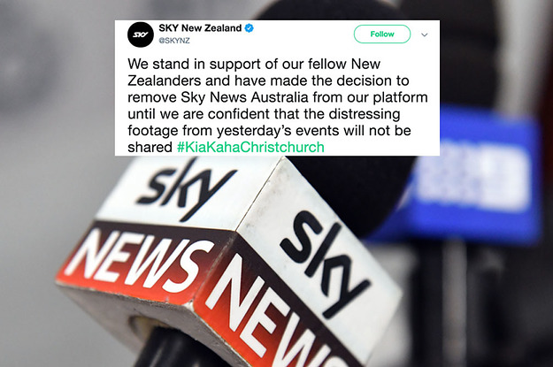 Sky News Australia Has Been Pulled From The Air In New Zealand For Broadcasting Christchurch Video
