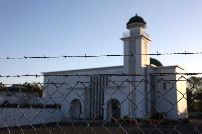 事件が発生したニュージーランドのモスク