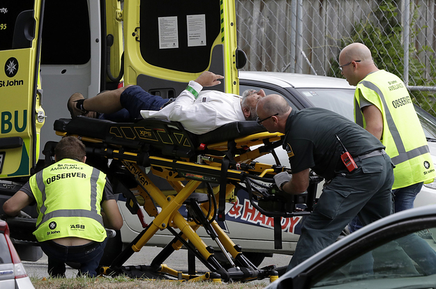 Dozens Killed In Mass Shootings At New Zealand Mosques