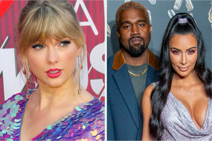 """In case you somehow missed this drama, or need an update, the TL;DR version goes something like this:— Kanye released a song called """"Famous"""" containing the lyric """"I feel like me and Taylor might still have sex / Why? / I made that bitch famous.""""— He claimed to have called Taylor asking for permission to use the lyric and said she approved it.— Taylor released a statement saying that she had warned Kanye of the song's """"misogynistic message"""" and that he'd never asked permission to use the line """"I made that bitch famous.""""— Kim then released a video of parts of their phone call in which Taylor seemingly gave her permission for Kanye to use the """"We might still have sex"""" lyric, but not the reference to her as """"that bitch"""".— Taylor then disappeared from public view for almost a year before returning with an album, Reputation, which appeared to address the feud in a couple of tracks."""