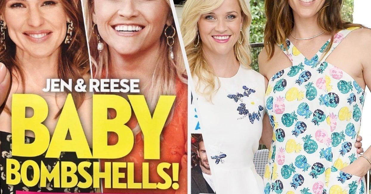 Reese Witherspoon Had The Best Response When A Magazine Said She Was Pregnant
