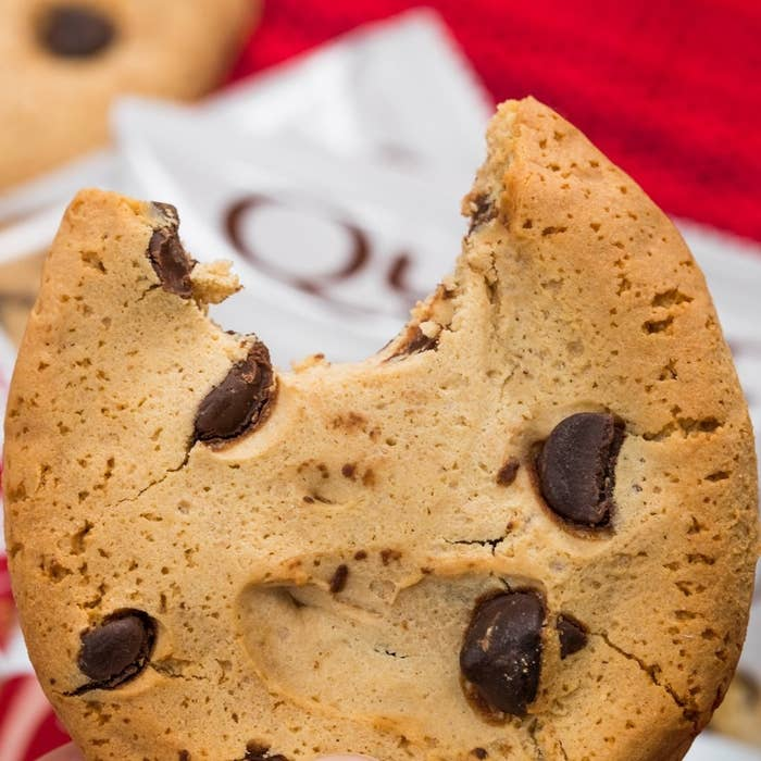 With 15 grams of protein and only 4 net carbs, these cookies — which come in chocolate chip, chocolate peanut butter, and double chocolate — are a no-brainer when you're craving something sweet.Get a pack of 12 from Amazon for $17.89.