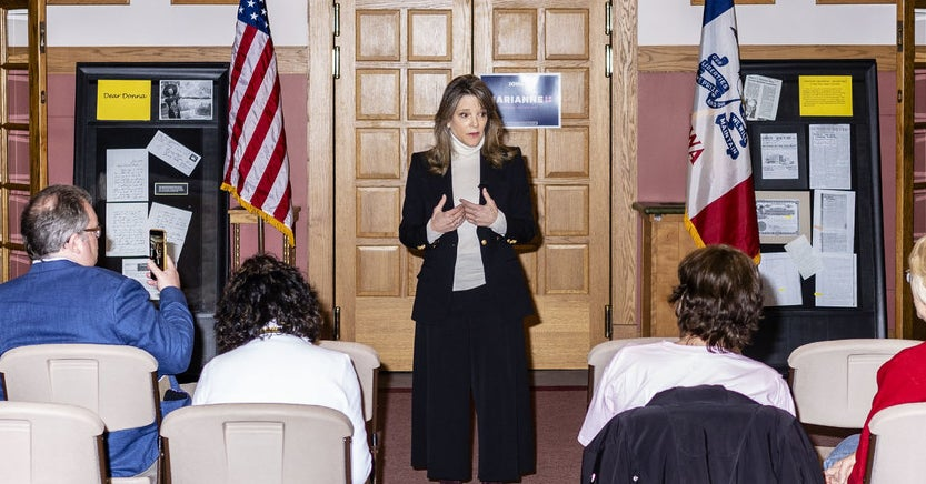 QnA VBage Into America's Spiritual Void With Marianne Williamson