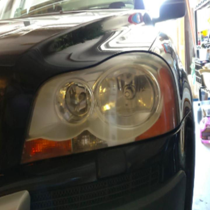 the same headlight looking brand new