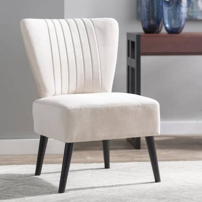"""Promising review: """"I'm staging a house with these, and they're pretty great. Elegant and they look more expensive than they really are."""" —KristaGet it from Birch Lane for $87.99 (available in seven colors)."""