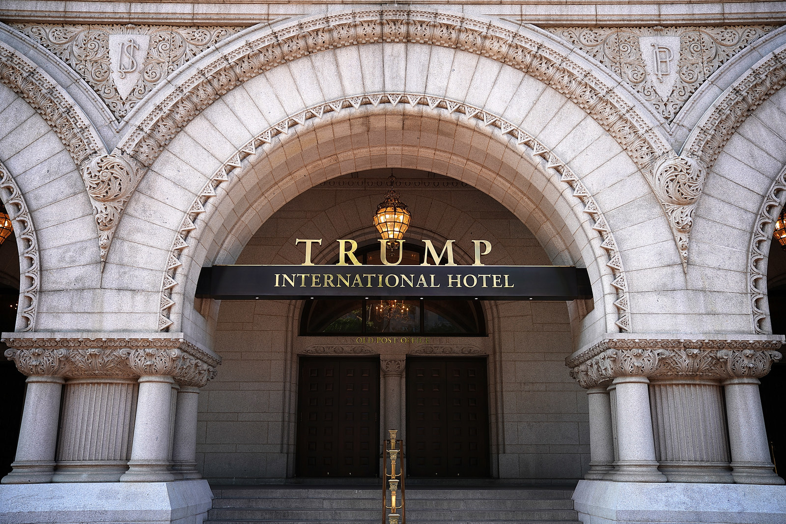 Trump's Lawyers Argue No One Should Be Able To Sue Him For Profiting From His Hotel
