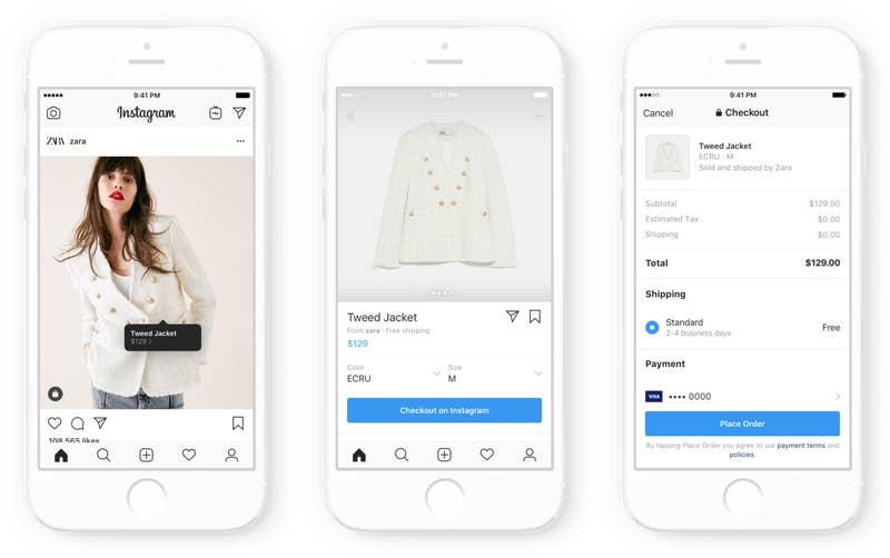 Instagram anuncia nova plataforma de compras e promete ser a rede mais lucrativa