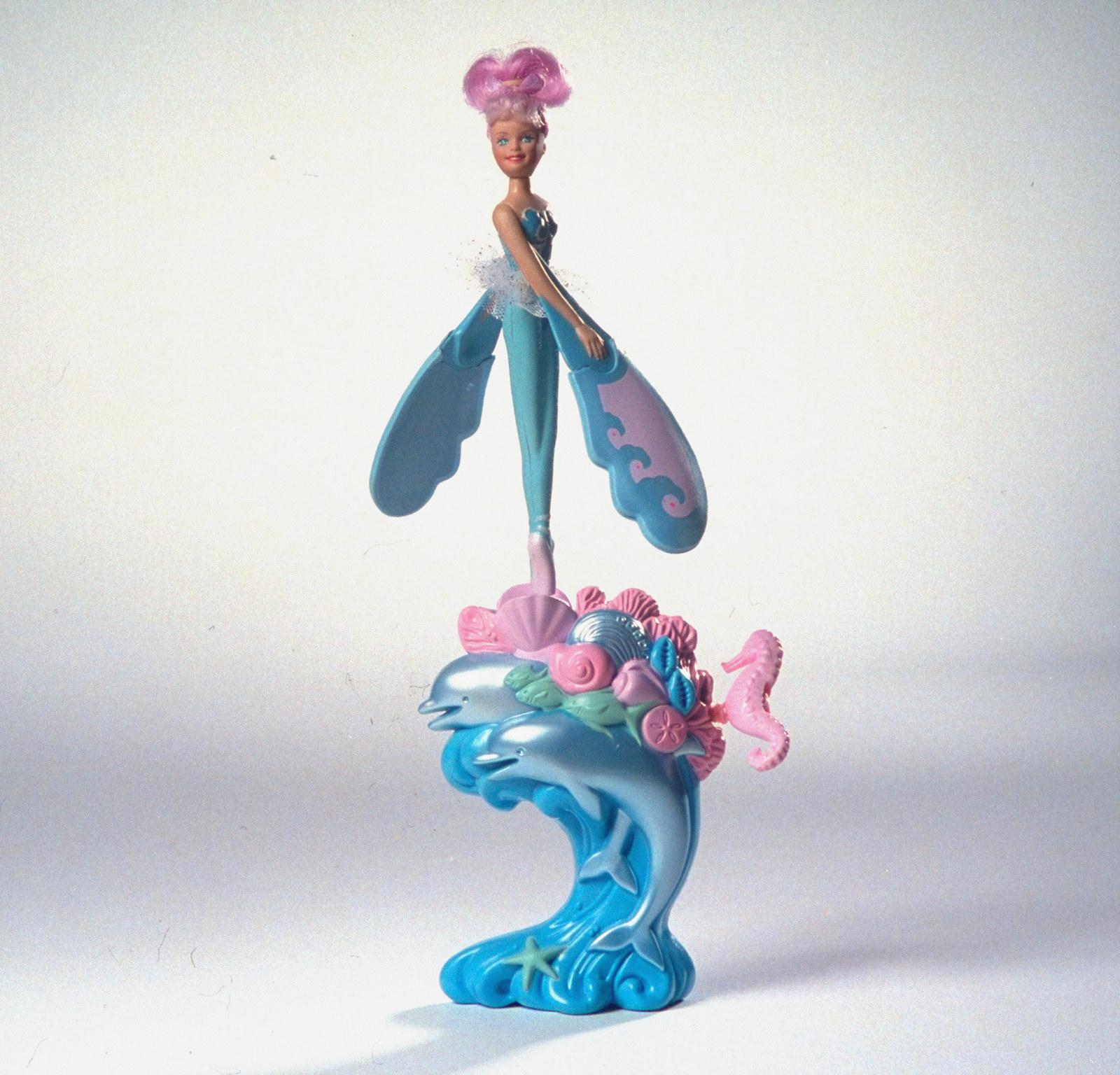 Photo of a blue Sky Dancer