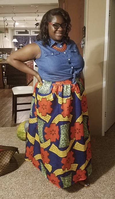 ee55379d81 9. An African-print maxi skirt with pockets and an elastic waistband for a  classic cultural style you can rock in the sunshine or even the rain.