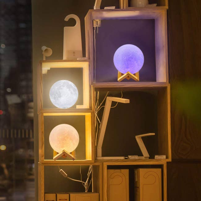 36781cce0d7a A magical moon lamp with adjustable brightness so your room will be super  cozy as your prepare to blast off to Dream Land.