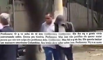 Aqui estão as mensagens do adolescente acusado de ser cúmplice no massacre de Suzano