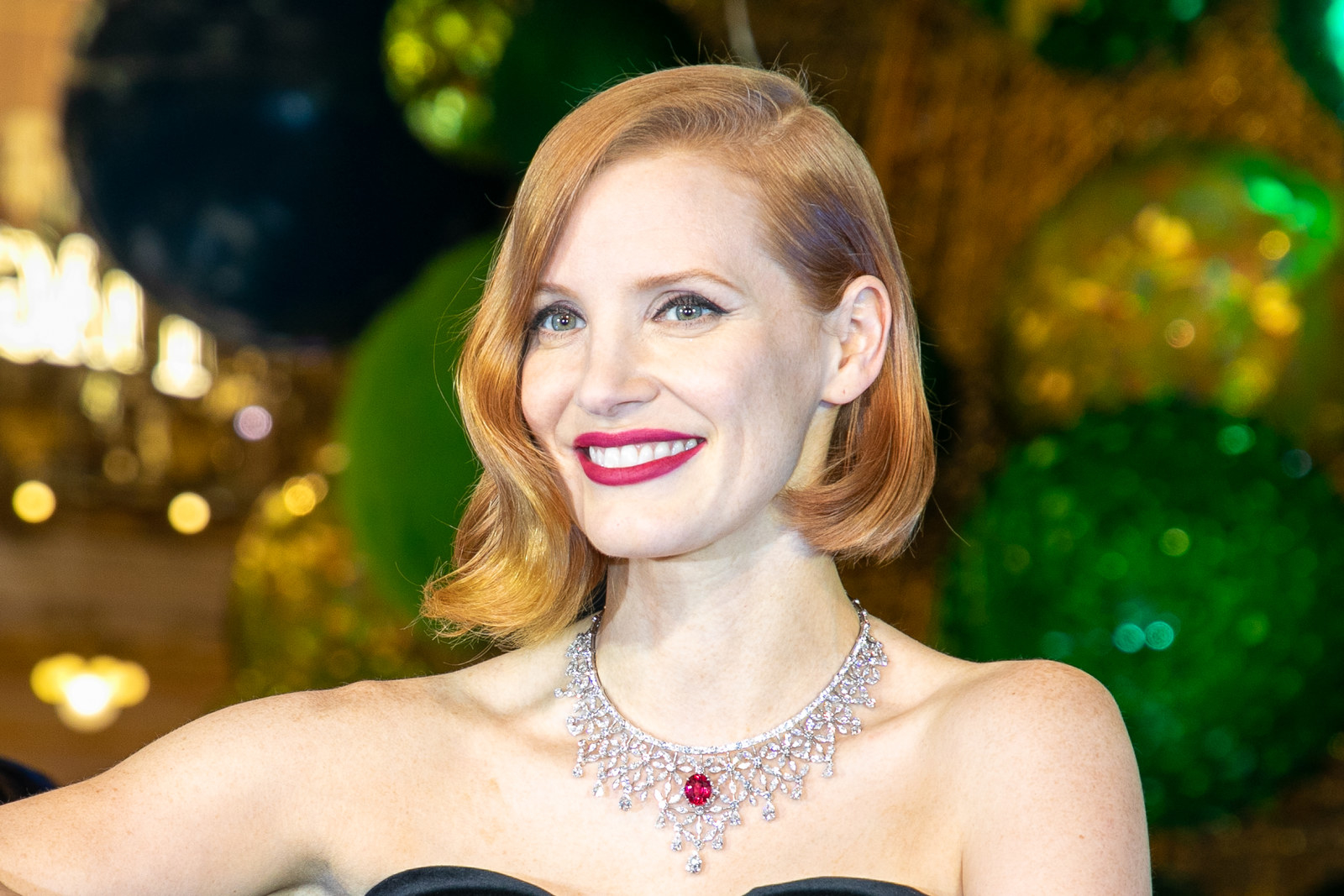 While Jessica Chastain is turning 42 on March 24.