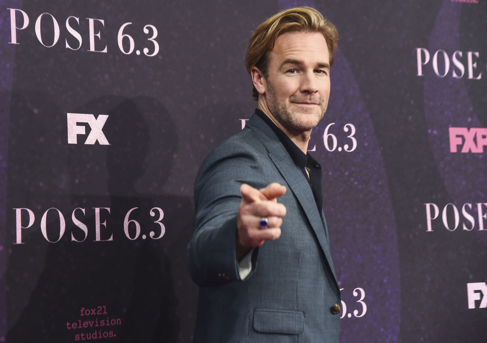 And James Van Der Beek is turning 42 on March 8.