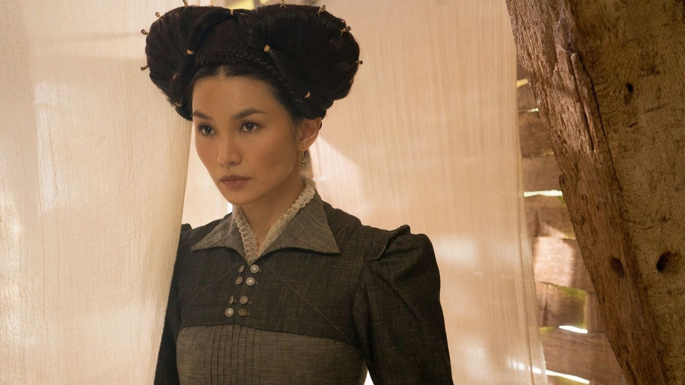 In case you don't know who she is, Gemma has been acting for years (she was in the first  Fantastic Beasts ) but blew up this past year for her performances in  Crazy Rich Asians  and  Mary, Queen of Scots . She's also going to be in  Captain Marvel !
