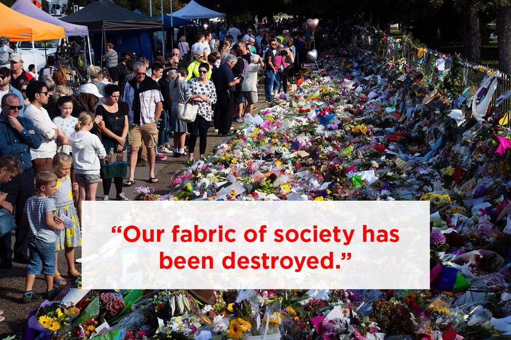 Christchurch Residents Say The Terror Attack Is Bringing Back Memories Of The Citys Deadly Earthquake
