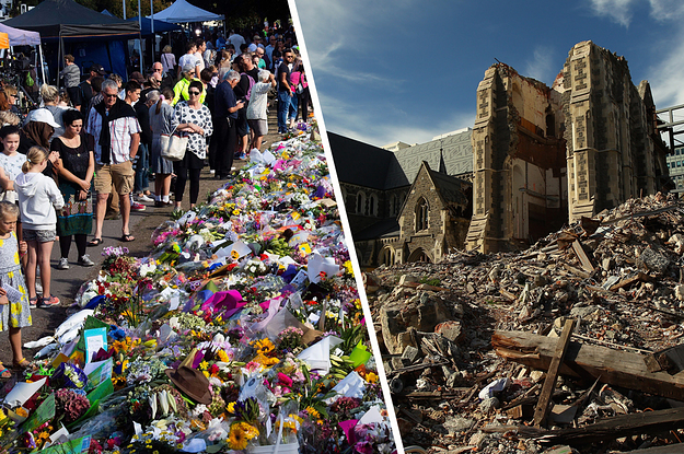 The Pain Of Deadly Earthquakes Resurfaces As Christchurch Responds To A Massacre