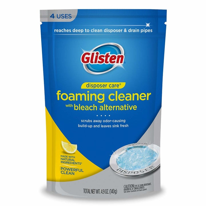 The cleaner's packaging