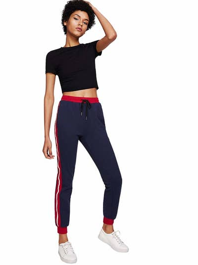 323a294ed8a A pair of cool jogger pants that over 1,000 reviewers love. Your favorite  sweats, but make it fashion.