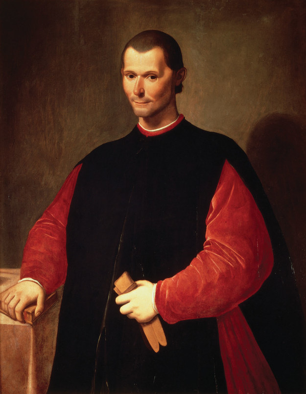 "Machiavelli, author of ""The Prince"""