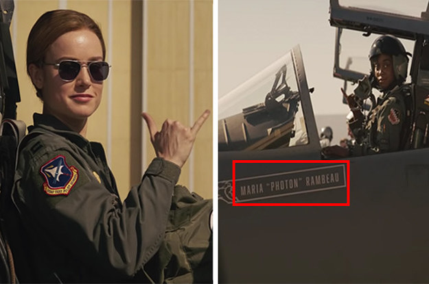 "23 ""Captain Marvel"" Details That'll Make You Say, ""How Did I Not Notice That?!"""