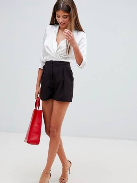 7eec1eb4634 Tailored black shorts that aren't your typical shorts, but rather —  *extremely Gina Linetti voice* —