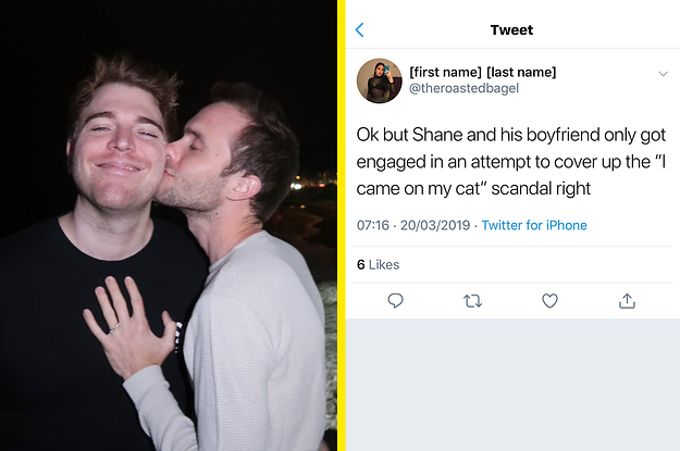 Shane Dawson Says Hes Engaged But Some People Think Its A Distraction From The Cat Drama