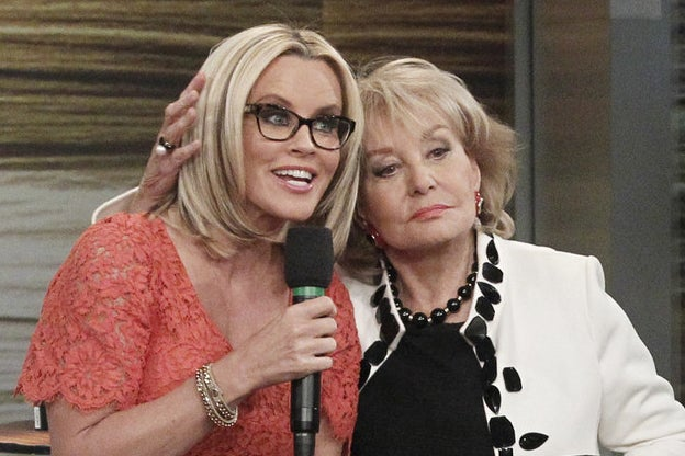 """Jenny McCarthy Says Barbara Walters Made Her Flush A Tampon When She Was On """"The View"""""""