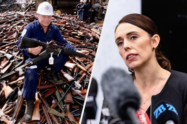New Zealand Is Banning Military-Style Semi Automatic Weapons Following The Christchurch Terror Attack