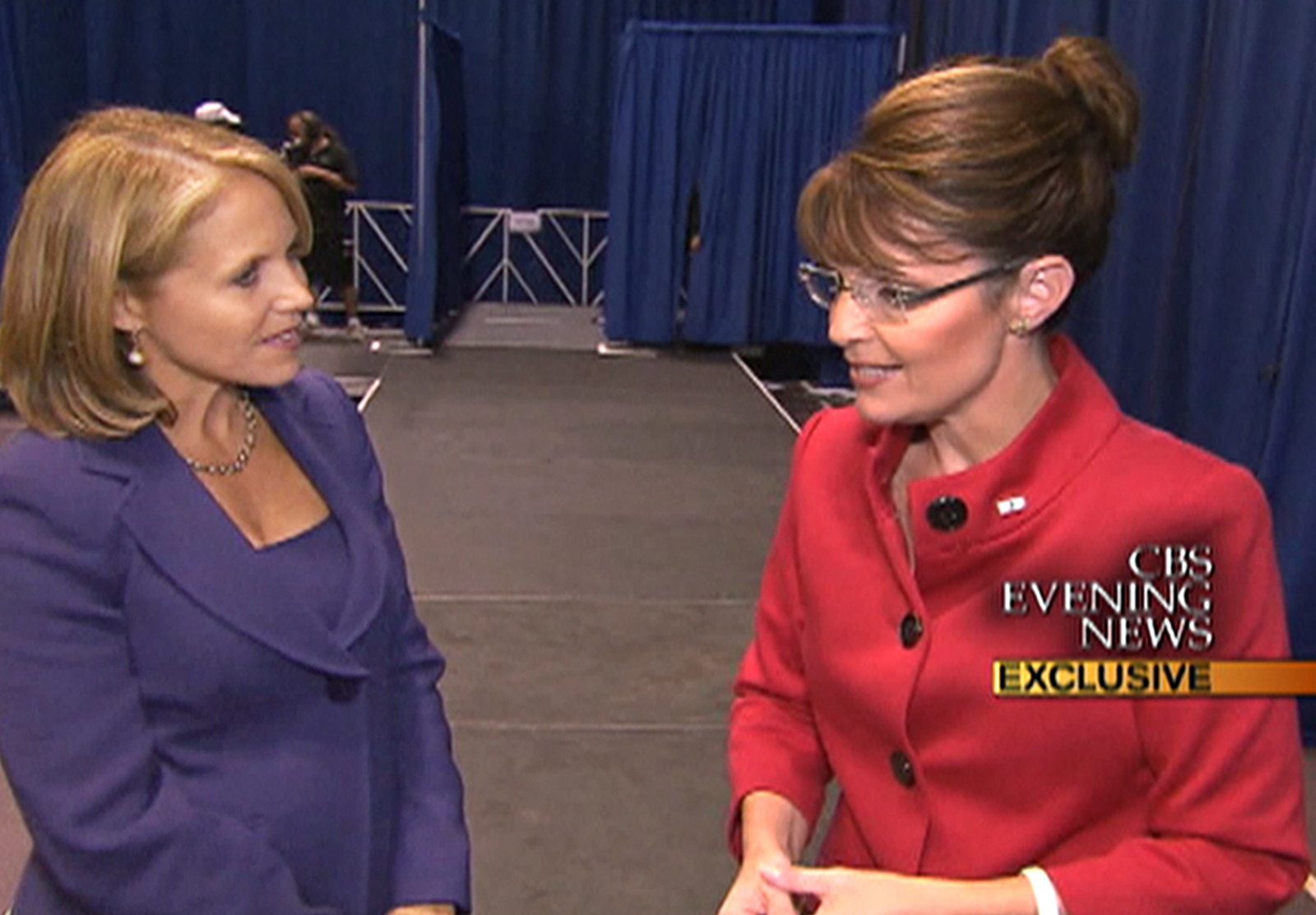 Katie Couric Says Her 2008 Question To Sarah Palin About Newspapers Probably Wouldn't Have The Same Effect Today