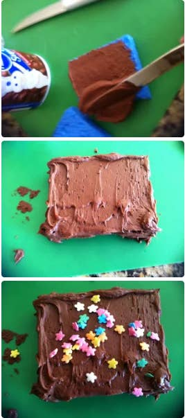 Two things: 1. Use new sponges straight out of the package, of course, and 2. You probably only want to do this one with kids who are grade-school age or older. Learn how to pull it off at Instructibles. Oh, and have a real brownie on hand to swap out for the prank one!