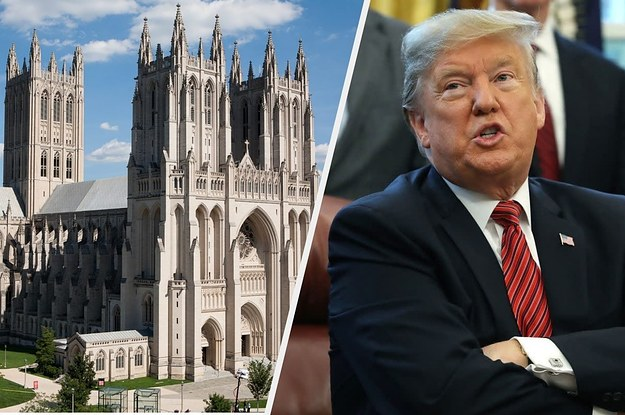 Trump Got Dunked On By The National Cathedral. Yes, The National Cathedral.