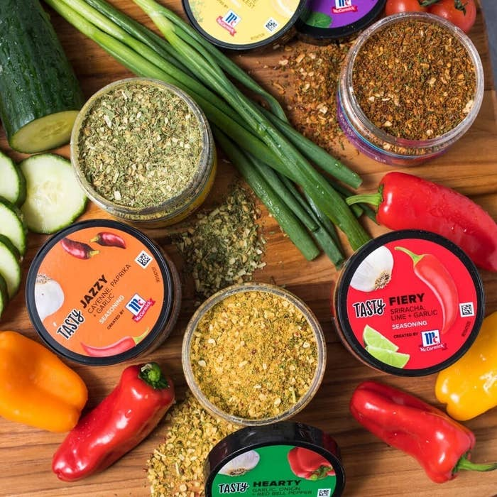 Who better to trust with a seasoning kit than the hands you've seen in Tasty videos whipping up delish meals? No one! And now you can bring home Tasty's expertly created spice blends and try them out in your own kitchen.